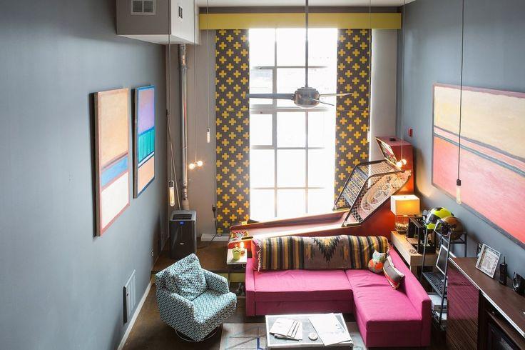 Bachelor Apartment Decorating Painting Unique Design Decoration