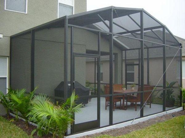 Bildschirmgehäuse Genießen Sie Eine Komfortable Umgebung Im Freien Patio Builders Patio Remodel Screened In Porch Diy