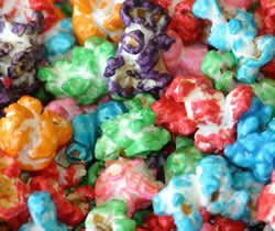 Gourmet rainbow popcorn was something we always had around the house when I was growing up.