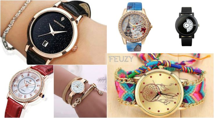 Watches for Women Online at FEUZY  Shop women's watches online at FEUZY fashion accessories store. Choose fancy Watches, bracelet watches for girls or luxury watches for men at best prices. Get free shipping and discount on each order.