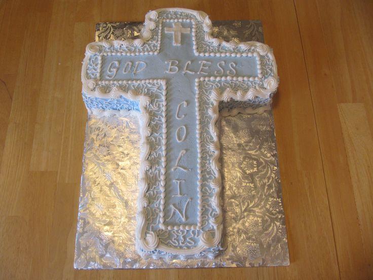 Cross Cakes for Baptism | Wedding showers