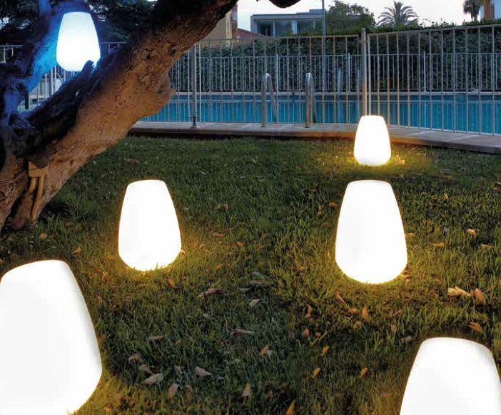 71 best l mparas exterior retroiluminadas images on - Lamparas de jardin exterior ...