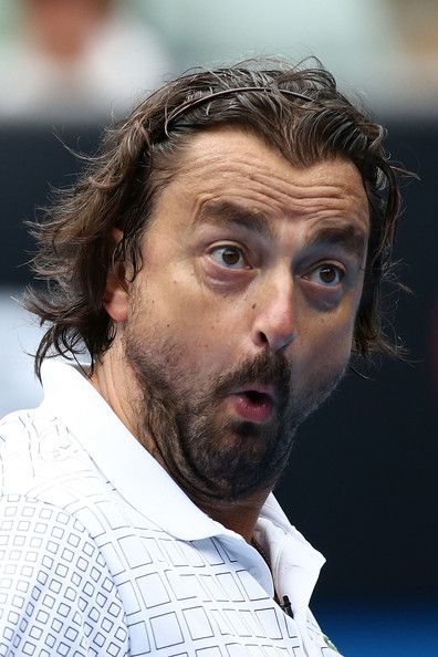 Henri Leconte - 2014 Australian Open - Day 9