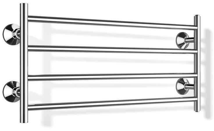 Pyyhekuivain Largo BTH 80404, 400x870mm, kromi tai valkoinen