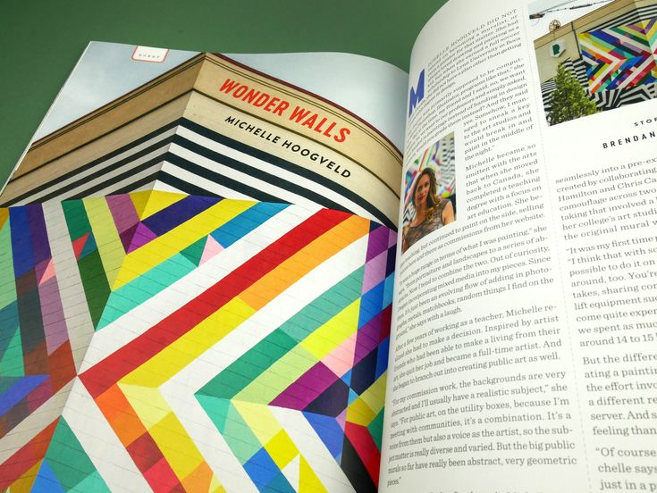 UPPERCASE issue 36 January/February/March 2018  murals