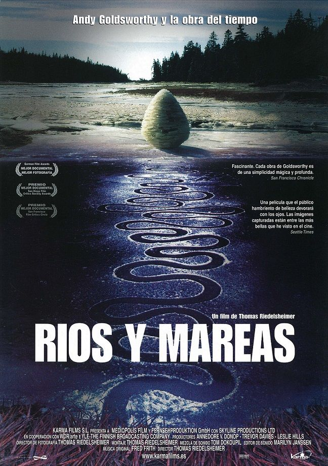 "Ríos y mareas (2001) ""Rivers and Tides"" de Thomas Riedelsheimer - tt0307385"