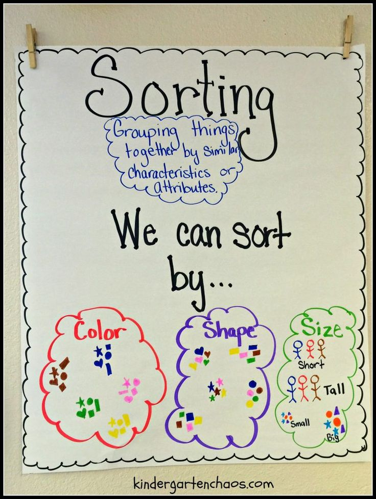 Best Kindergarten Anchor Charts Ideas On