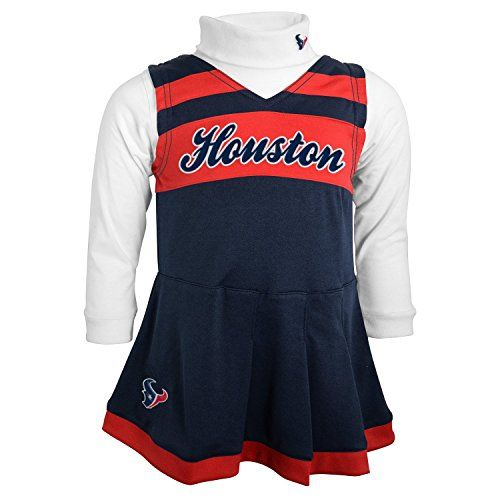Houston Texans Baby Cheerleader Outfit