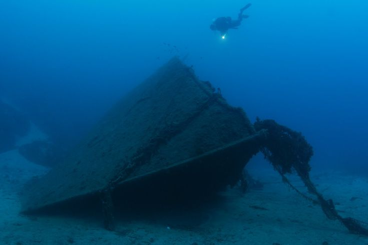 Athina: The wreck of the first iron steamboat built in Greece