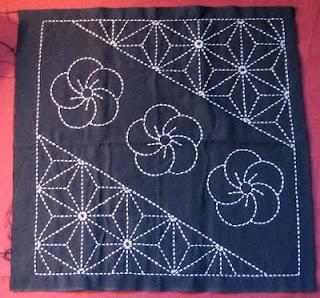 Sashiko pattern...pillow