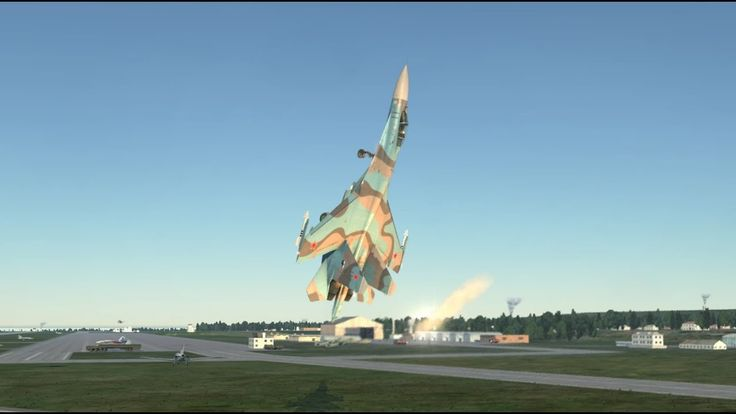PUGACHEV COBRA LANDING > Su-27