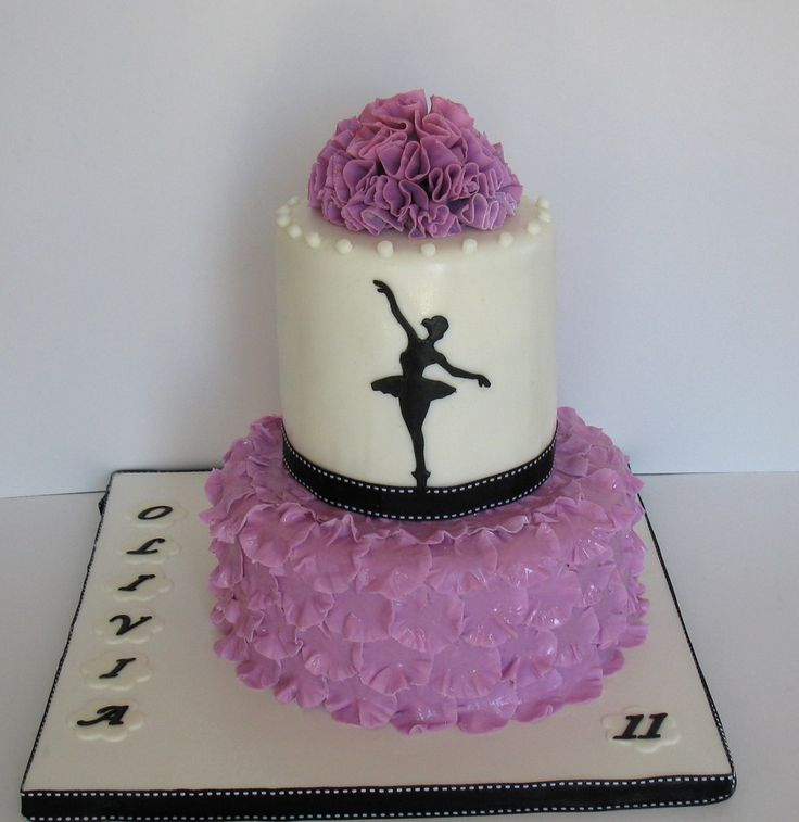 Ballet cake — Children's Birthday Cakes @Vicky Lee Lee - Justine would love this theme