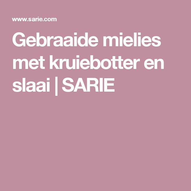 Gebraaide mielies met kruiebotter en slaai | SARIE