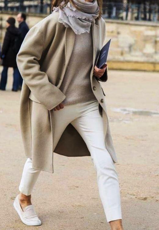 Cream, beige, light grey...