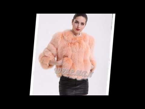 Woman In Colour Fox Fur Part 5