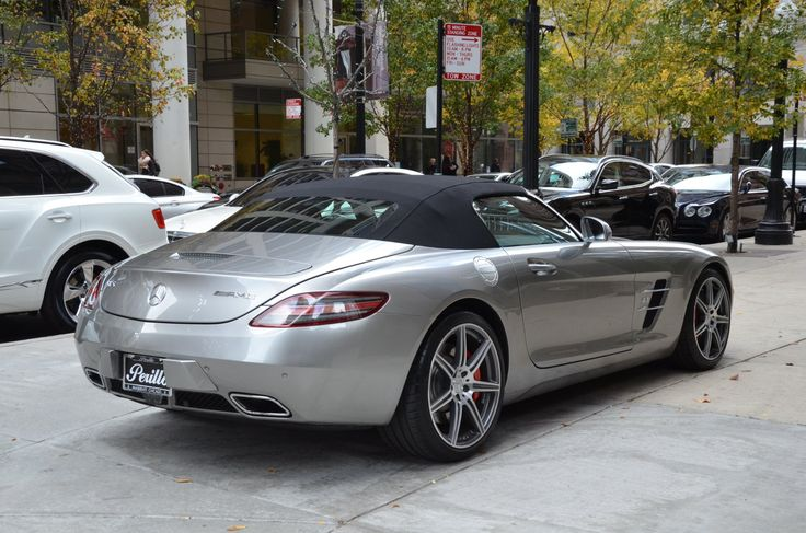 2012 Mercedes-Benz SLS AMG Stock # L340A for sale near Chicago, IL | IL Mercedes-Benz Dealer