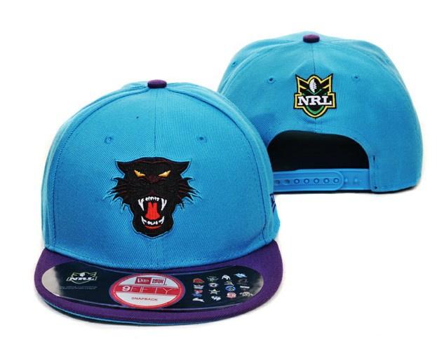 NRL Penrith Panthers NE Snapback Hat 01