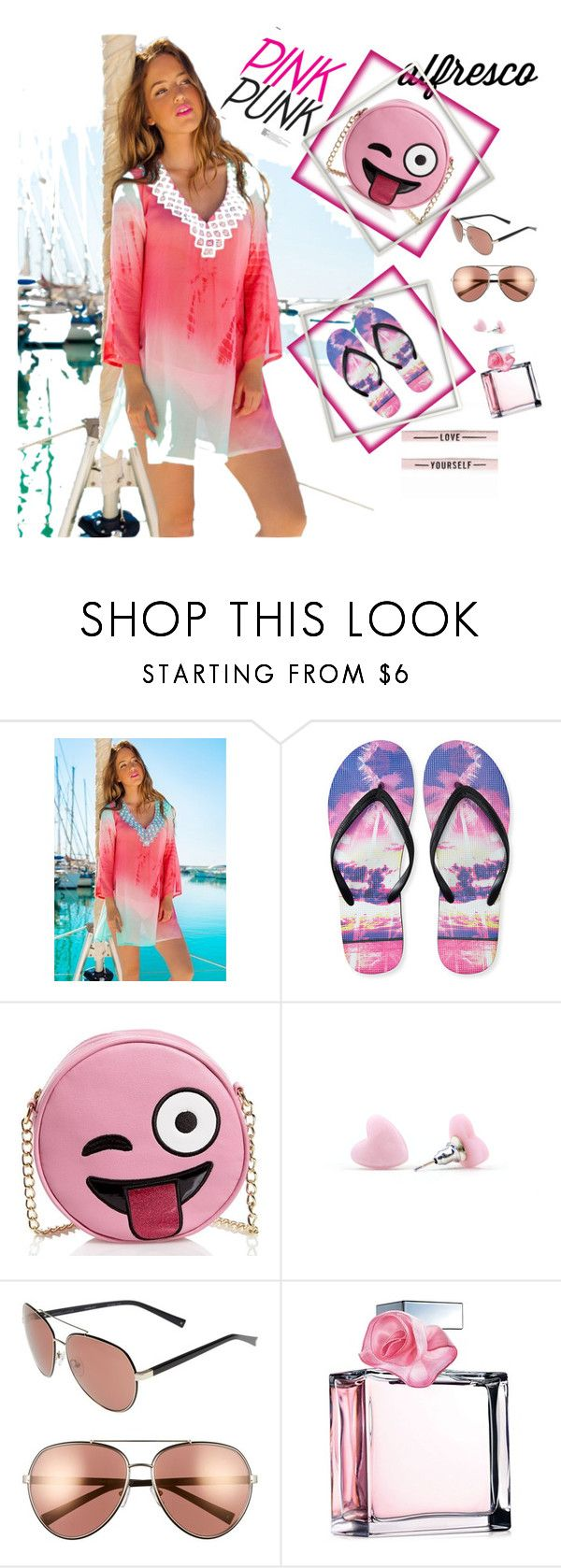 """summer breeze!🔥💎"" by olivia204 ❤ liked on Polyvore featuring Aéropostale, Olivia Miller, Kendall + Kylie and Ralph Lauren"