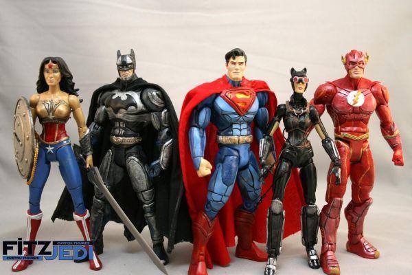 Toys For Injustice : Dc injustice superman marvel legends custom action