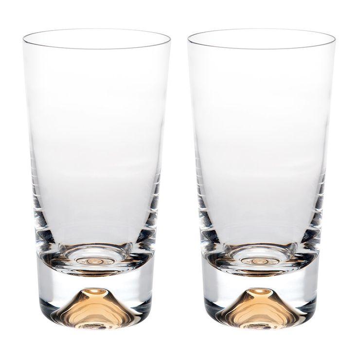 Buy Vista Alegre Olympos Highball Glass - Set of 2 | Amara
