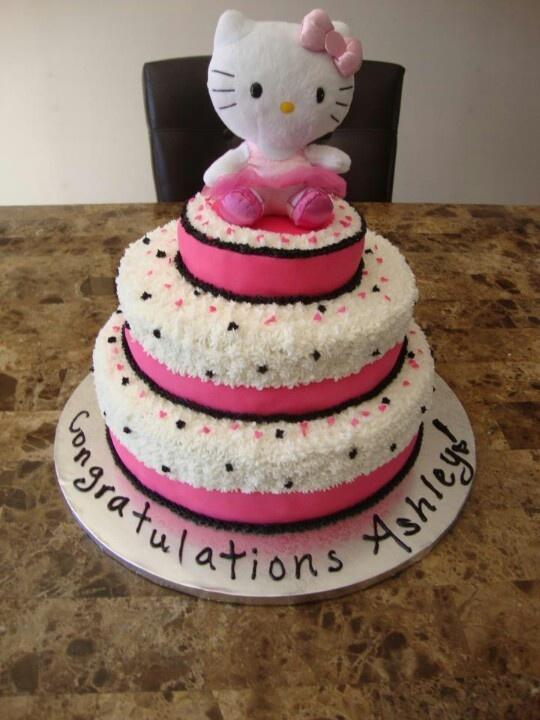 baby shower cake hello kitty ms ariana 39 s board