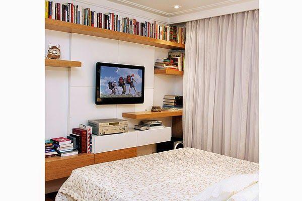 Sala Com Tv Lcd Na Parede ~ studiojkdesign QUAL A ALTURA IDEAL DA TV NA PAREDE?  bedroom