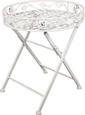 Metall Tisch Gartentisch Beistelltisch Antik Weiß Garten Balkon Shabby Rund  Jetzt Bestellen Unter: Https: