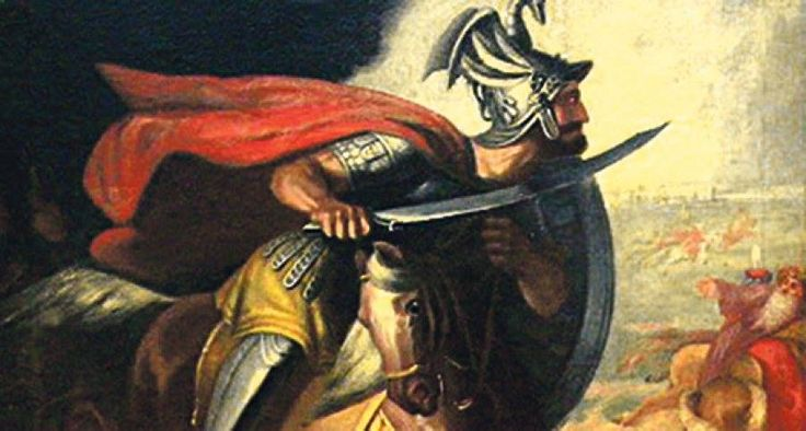 MILOŠ OBILIĆ (died 1389) was a Serbian knight in the service of Prince Lazar, during the invasion of the Ottoman Empire. He is not mentioned in contemporary sources, but he features prominently in later accounts of the Battle of Kosovo as the man who killed the Ottoman sultan Murad I. He became a major figure in Serbian epic poetry, in which he is elevated to the level of the most noble national hero of medieval Serbian folklore. Along with the martyrdom of Prince Lazar and the alleged…