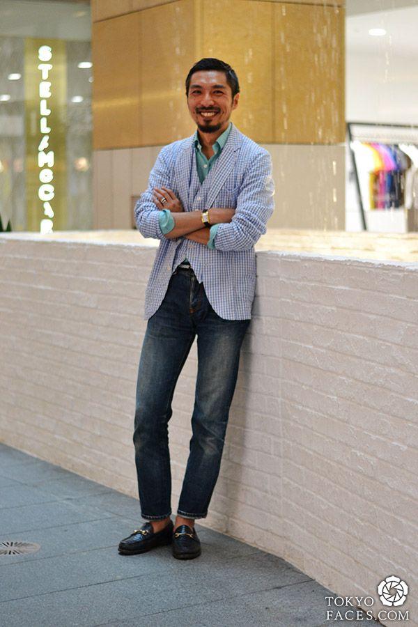 Name: Akira Jacket, Vest, Shirt: United Arrows Jeans: United Arrows Shoes: Beauty & Youth Watch: Cartier Bracelet: Chrome hearts