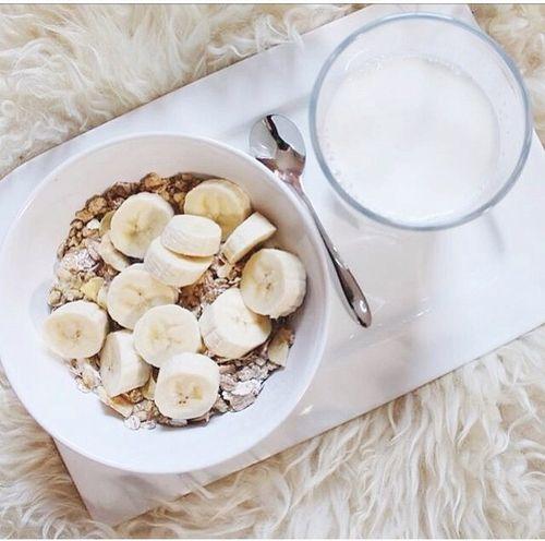 Banana Cereal, Milk