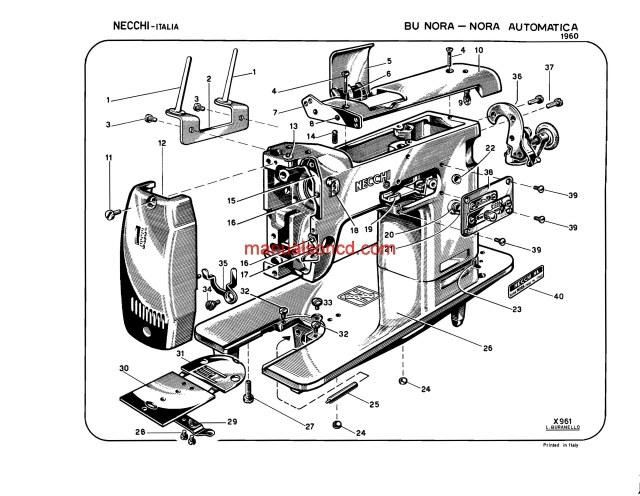 1318 best Sewing Machine Manuals images on Pinterest