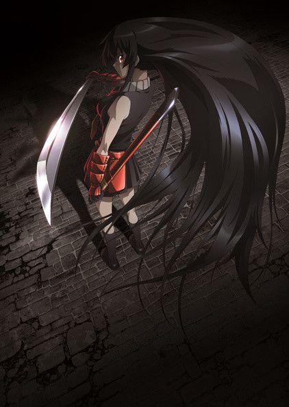 Akame ga KILL! no podía faltar Akame, retraída algo inocente pero muuuy fuerte!!