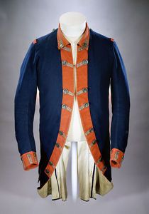 colonial military uniform    http://www.nps.gov/fost/historyculture/patriot-leader-of-new-york.htm