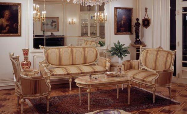 Königliche Wohn- und Schlafzimmer Möbel von Meroni , #konigliche ...