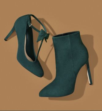 Hollison T-Strap Pump | Ladivinia Pointy Toe Booties | Holiday Style | Holiday Gifts | Nine West