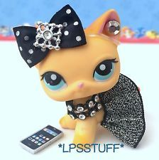 Littlest Pet Shop LPS Clothes Accessories Bow Skirt Outfit Lot *CAT NOT INCLUDED