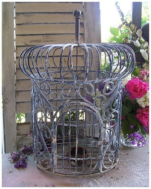 Garden Aviary Cage~ Fleamarket treasure | Flickr - Photo Sharing!