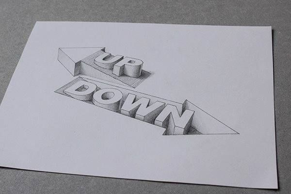 3D typography by Lex Wilson.