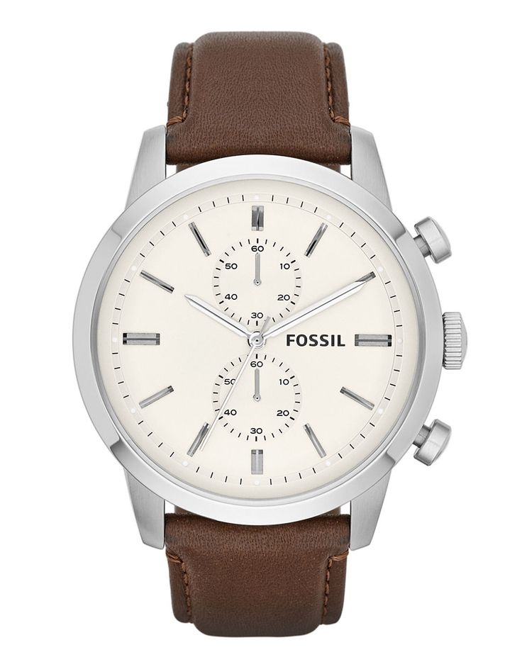 Jewellery & Accessories   Men's Watches   Townsman Chronograph Leather Watch - Brown   Hudson's Bay