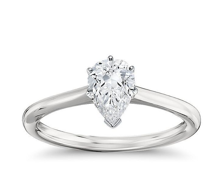 I got Pear - Which Engagement Ring Are You? - Take the quiz!