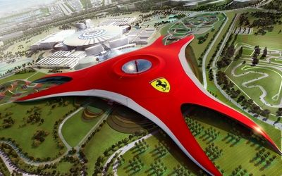 Ferrari World, Abu Dhabi wallpaper