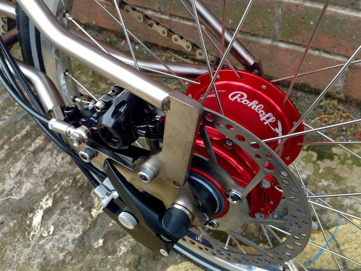 Rohloff Speedhub And Disc Brake On A Brompton Kinetics