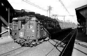 クモハ60形横浜戦原町田駅