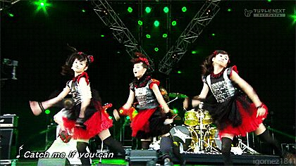 Catch me if you can - BABYMETAL