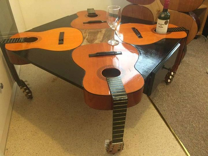 84 Best Guitar Furniture & Accessories Images On Pinterest