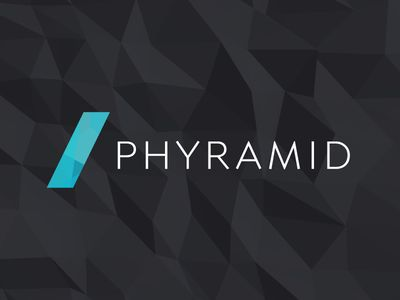 This is the #branding we designed for Phyramid. The background is actually a procedurally rendered #3D model — We'll post another shot and a blog post detailing it soon.  Check everything out at http://phyramid.com and let us know what you think. #creative #logo #identity