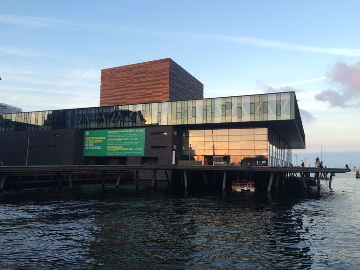 Royal Theatre, Copenhagen´s waterfront. http://philsspaces.com