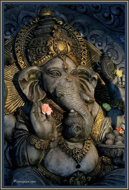 Om Maha Ganapataye Namaha by VIM'S PLACE, via Flickr #ganesh