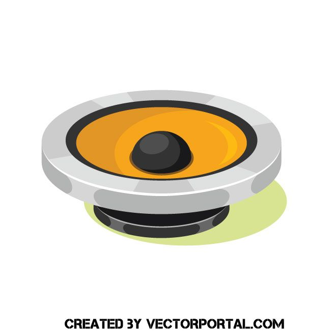 speaker vector clip art speaker vector clip art