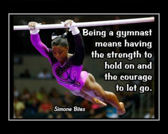 Gymnastics Motivation Poster Laurie Hernandez Photo by ArleyArt